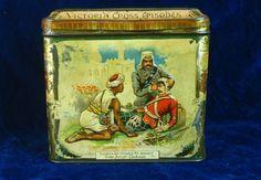 22427 Old Vintage Antique Tin - Food Sign Biscuits McVitie Price Crimean War | | eBay!