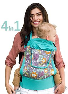 7e6fa306795 LILLEbaby 4 in 1 ESSENTIALS Baby Carrier Lily Pond    Click image to review  more