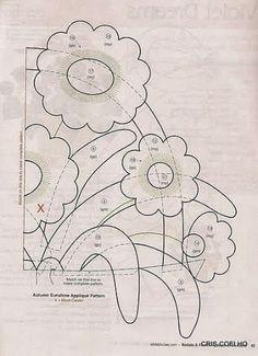 93 Applique of the month vasos de flores - maria cristina Coelho - Álbuns da web do Picasa