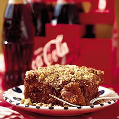 Wickedly Delicious Chocolate Desserts | Coca-Cola Cake | SouthernLiving.com