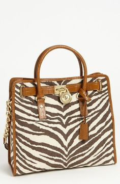 3c27f8b57f56d Gorgeous zebra MICHAEL Michael Kors  Hamilton - Large  Canvas Tote  available at