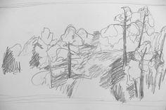 Laura Hudson - sketchbook drawing