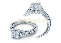 INSIGNIA-7066P engagement ring from The Insignia Collection of diamond engagement rings by Verragio