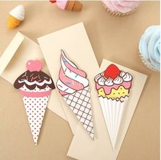 Ice Cream Card Set
