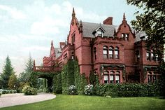 Ventfort Hall is an imposing Jacobean Revival-style mansion built in 1893 for Sarah Morgan, the sister of J. P. Morgan. Designed by the architects Rotch & Tilden, it is located in Lenox, Massachusetts. Listed on the National Register of Historic Places