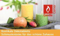 Candle Corner - Kerzen, Duftkerzen, Servietten & Tischdekoration für Ihr schönes Zuhause