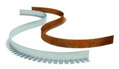 Beeteinfassung Metall flexibel