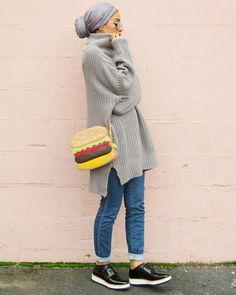 HH Spotted Club: Saufeeya 'Feeeeya' in the HH Essentials Maxi Modal Wr – Haute Hijab waysify