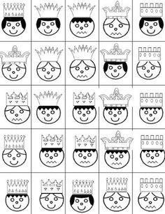 """Thème de Janvier : """"Roule galette"""", les rois et les reines - Activités pour la Grande Section Maternelle Petite Section, Grande Section, Mike The Knight, Dragon Party, Prince And Princess, Fun Math, Kindergarten, Homeschool, Cricut"""