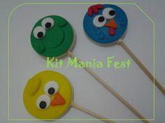 Pirulito chocolate decorado - diversos temas. Você encontrar na Kit Mania Fest.  Site/blog:  http://kitmaniafest.blogspot.com.br Aceitamos encomendas. Recife PE