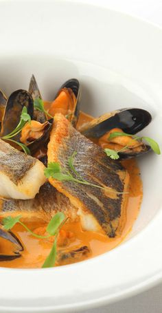 This impressive bouillabasse recipe from Marcello Tully uses cod loin. Use the crusty bread to mop up the sublime, rich sauce.