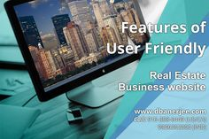 Features of user-friendly #Real #Estate Business #website #design The potential of a real business website and blog is unlimited. Why not leverage it for high profitability and ROI goals through real estate website design services? First, be educated on the must-have features of business website design and their necessity. http://dbanerjee.com/real-estate-business-website-designer/