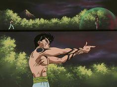 Yusuke Mazoku vs Yomi, Yu Yu Hakusho