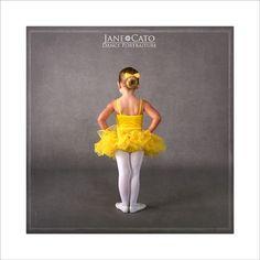 Yellow Tutu Ballerina Girl Cato