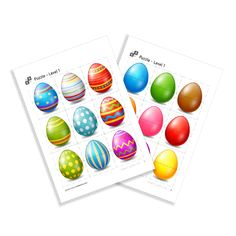 Puzzle of the serie Easter. By Using, Easter Eggs, Puzzle, Printables, Riddles, Print Templates, Puzzles, Puzzle Games, Quizes