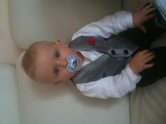 Little Max, before his Baptism.
