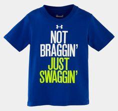 Boys' Toddler UA Not Braggin T-Shirt | 1255794 | Under Armour US