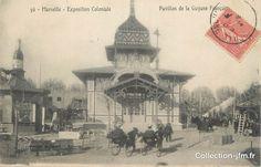 Exposition Coloniale 1906 - Pavillon de la Guyane Française