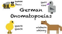 German onomatopoeia