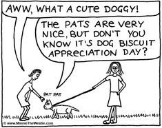 Minnie The Westie wants all humans to know that it's Dog Biscuit Appreciation Day on 23 February!
