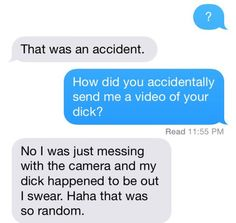 """""""Oops! I just recorded, saved, and sent you a video by mistake!"""" 