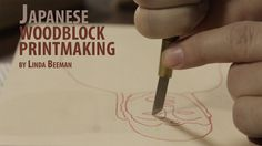 Linda Beeman shares her technique for getting started in Japanese Woodblock Printmaking This second video focuses more on the painting process Japanese Prints, Japanese Art, Printmaking Supplies, Printmaking Ideas, Japanese Woodcut, Linocut Prints, Woodblock Print, Wood Print, Screen Printing