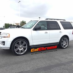 "2017 Ford Expedition with Chrome 24"" Marcellino Concepts #calchrome #yourhomeforchrome #marcellinowheels #chromewheels #24inchwheels #upgradeyourself #fordexpedition #newwheels #santaclaritavalley #scv #wecometoyou #socalcars #suvlife Santa Clarita Valley, Chrome Wheels, Ford Expedition, Alloy Wheel, Vehicles, Nice, Check, Top, Car"