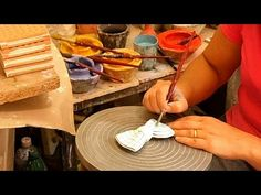 Eco-Fashion Startup Designing, Handcrafting, And Hand-Painting Ceramic Accessories Startups, Hand Painted, Painting, Accessories, Design, Fashion, Moda, Fashion Styles, Painting Art