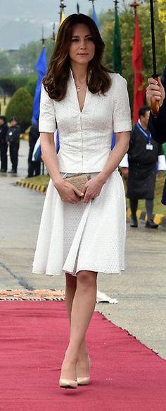 Duquesa de Cambridge: Foto a foto, todos los 'looks' en su viaje a India y Bután - Foto 3
