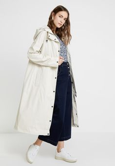 Ilse Jacobsen RAIN - Parka - milk creme - ZALANDO.FR Rain Parka, Mannequin, Duster Coat, Raincoat, Milk, Jackets, Fashion, Coats, Zipper Pulls