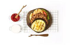 Patlıcan Burger Tarifi