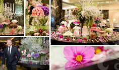 photos of candy buffet | Alex Perry Fashion Launch - Pastel Floral Candy Buffet