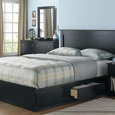 sonoma'' bed platform with storage, standard height - sears