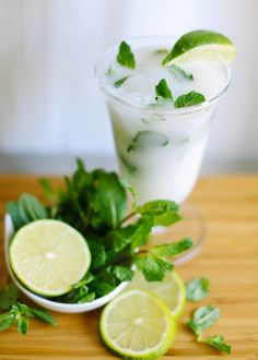 Coconut-Lime Mojito (this may be my drink of spring/summer 2013)