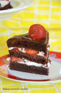 Makeaa murmelin täydeltä: Täyteläinen suklaakakku (gluteeniton)