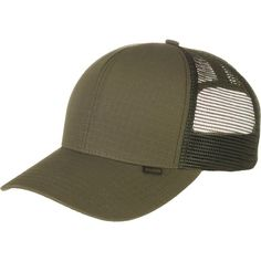 2b9ac4f7a36 Filson Logger Mesh Ripstop Trucker Hat ( 35) ❤ liked on Polyvore featuring  accessories