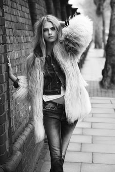 Cara Delevingne Frolics in London for Pepe Jeans Autumn 2013 Campaign | The Front Row View