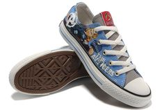 c09f9808c49e Thor Converse Shoes Marvel Comics The Avengers Blue Low Tops Canvas