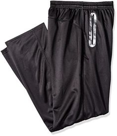 Russell Athletic Men's Big and Tall Dri-Power Performance Pant, Black, 3X - http://www.exercisejoy.com/russell-athletic-mens-big-and-tall-dri-power-performance-pant-black-3x/athletic-clothing/