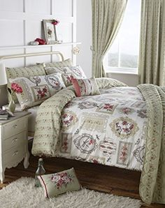 Pretty as a picture floral and picture frame reversible duvet cover , green, super king size emporium home interiors http://www.amazon.co.uk/dp/B00L0N953O/ref=cm_sw_r_pi_dp_2HTjvb0EPTNX7