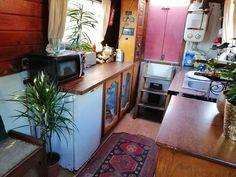 Van House, Narrowboat Interiors, Narrow Boat, Room Stuff, Van Life, Boats, Rv, Chill, Environment