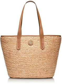 Tory Burch, Straw Basket Tote - Wantering.com