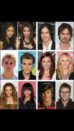 The evolution of the Vampire Diaries cast!! WOW ^I could not stop laughing at Paul's old hair! Huge improvements have been made! And Zach just needed a hair cut :)