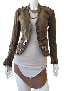 Norio Nakanishi's Jacket with applications @ $351.00 from dressspace.com