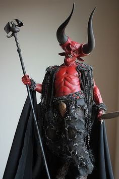 Lord of Darkness. Legend. Amazing costume.