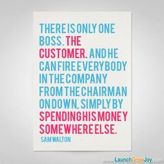 Great quote from Sam Walton A good reminder in business! - Customer Service - Ideas of Selling A Home Tips - Great quote from Sam Walton A good reminder in business! Teamwork Quotes, Leadership Quotes, Success Quotes, Employee Motivation Quotes, Strategy Quotes, Customer Service Quotes, Service Client, Customer Experience, Great Quotes