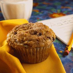 Serve these muffins for an after school snack that will provide needed fiber to your kids diet.