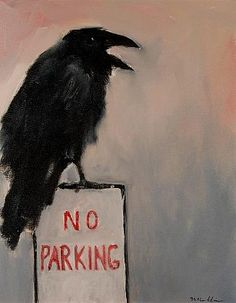 Mel McCuddin   No Parking, 2012   oil on canvas  20 x 16 inches