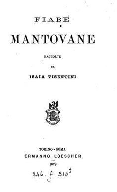 Fiabe Mantovane copertina