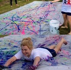 Paint slip n side: Doing it this summer!!! Add it to our summer bucket list @Dani Cook
